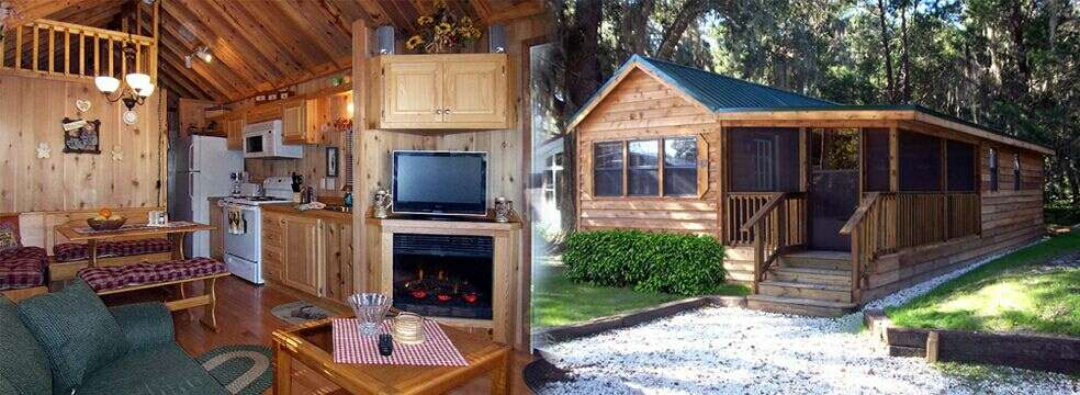 florida cabin rental and vacation rentals at the central